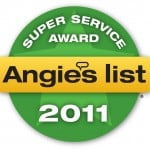 2011 Angies List Super Service Award - Extra Step Cleaning's 5th Straight Award